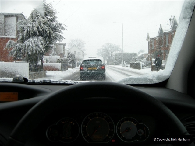 2009-02-06 Snow in Poole, Dorset.  (1)212