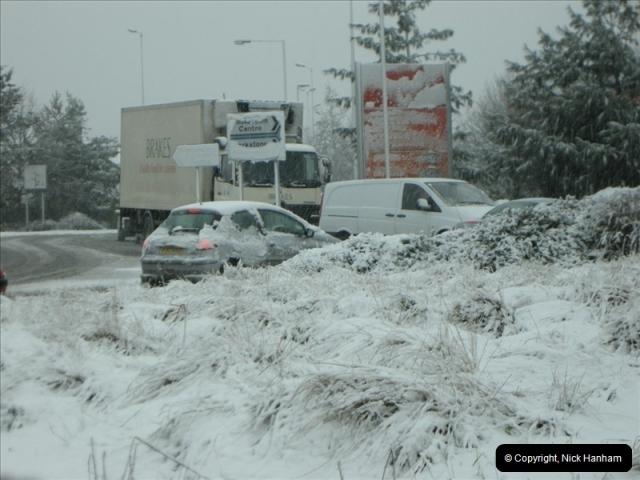 2009-02-06 Snow in Poole, Dorset.  (3)214