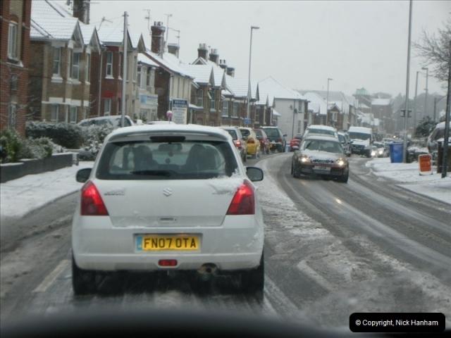 2009-02-06 Snow in Poole, Dorset.  (4)215