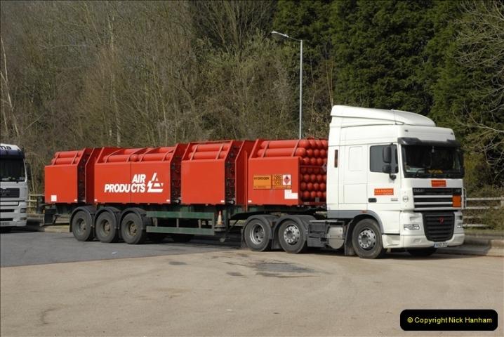 2011-03-24. M27 Services @ Rownhams, Hampshire.  (1)031
