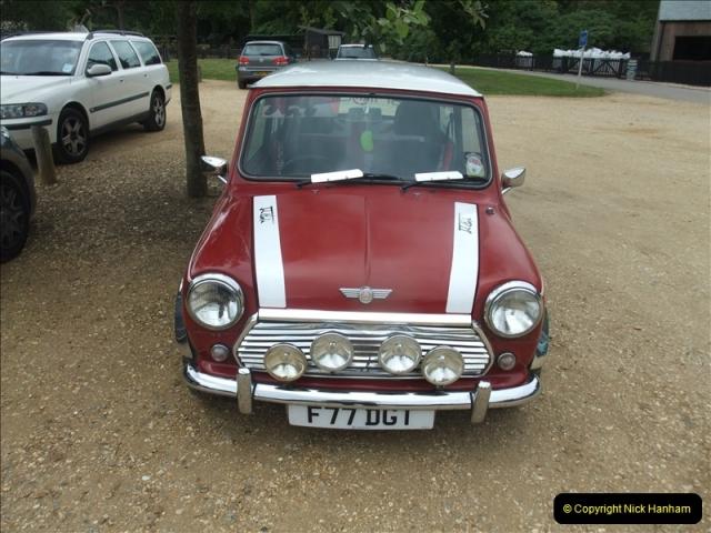 2011-07-24 Mini Cooper @ Exbury Gardens, Hampshire.  (2)089