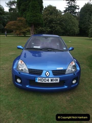 2011-07-24 Renault Cars Event @ Exbury Gardens, Hampshire.  (35)127