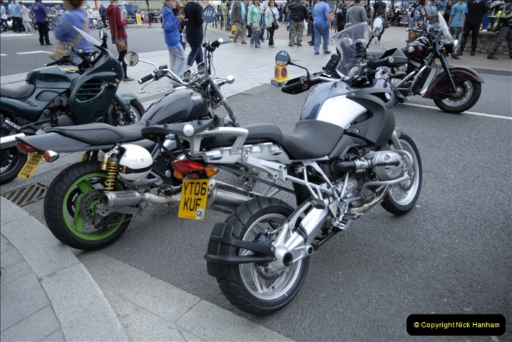 2011-07-26 Bikers Night, Poole Quay, Poole, Dorset.  (95)229