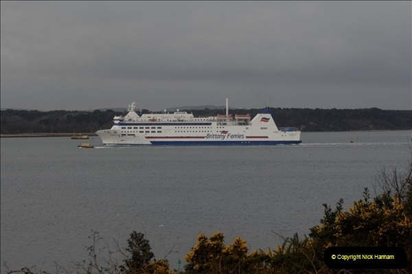 2011-02-28 The Barfleur Returns to Poole.  (12)012