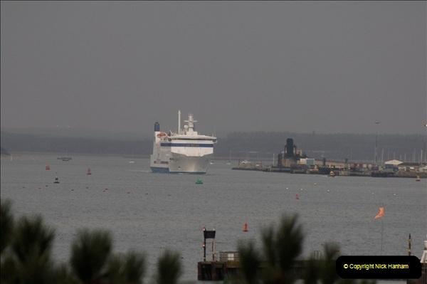 2011-02-28 The Barfleur Returns to Poole.  (7)007