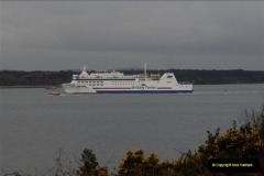 2011-02-28 The Barfleur Returns to Poole.  (12)012