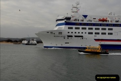 2011-02-28 The Barfleur Returns to Poole.  (16)016