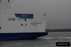 2011-02-28 The Barfleur Returns to Poole.  (18)018