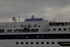 2011-02-28 The Barfleur Returns to Poole.  (19)019