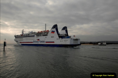 2011-02-28 The Barfleur Returns to Poole.  (21)021