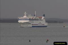 2011-02-28 The Barfleur Returns to Poole.  (8)008