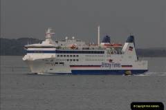 2011-02-28 The Barfleur Returns to Poole.  (9)009