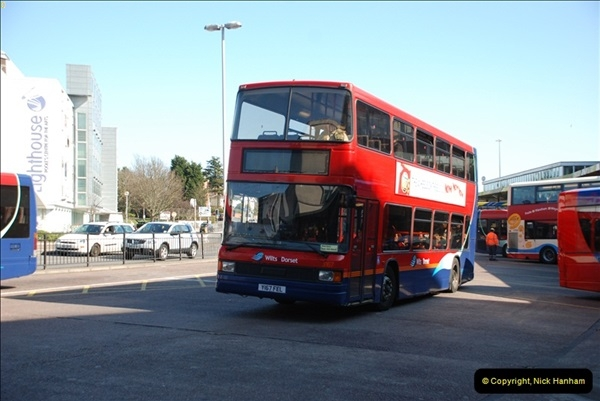 2012-03-21 Buses in Poole, Dorset.  (108)226