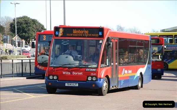 2012-03-21 Buses in Poole, Dorset.  (109)227