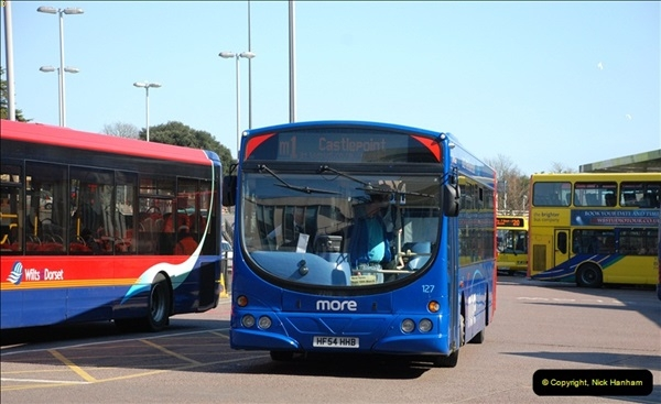 2012-03-21 Buses in Poole, Dorset.  (116)234