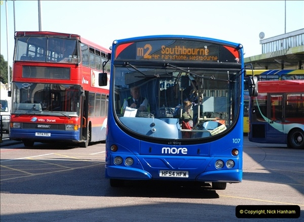 2012-03-21 Buses in Poole, Dorset.  (117)235