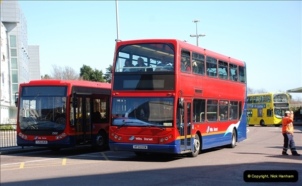 2012-03-21 Buses in Poole, Dorset.  (121)238