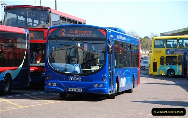 2012-03-21 Buses in Poole, Dorset.  (124)241