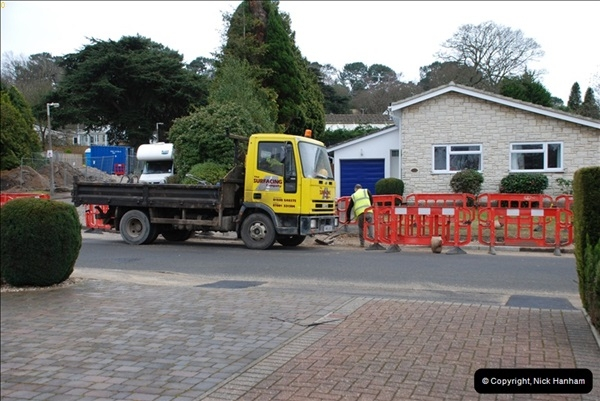 2012-02-20 Gas pipe renewal work. Poole, Dorset.  (11)055