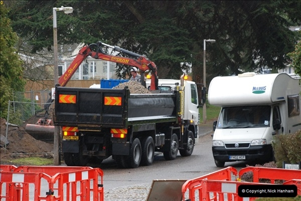 2012-02-20 Gas pipe renewal work. Poole, Dorset.  (14)058