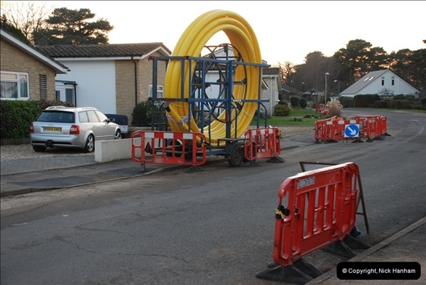 2012-02-20 Gas pipe renewal work. Poole, Dorset.  (4)048