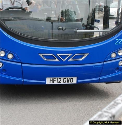 2013-08-07 Poole Bus Station, Dorset.  (6)136