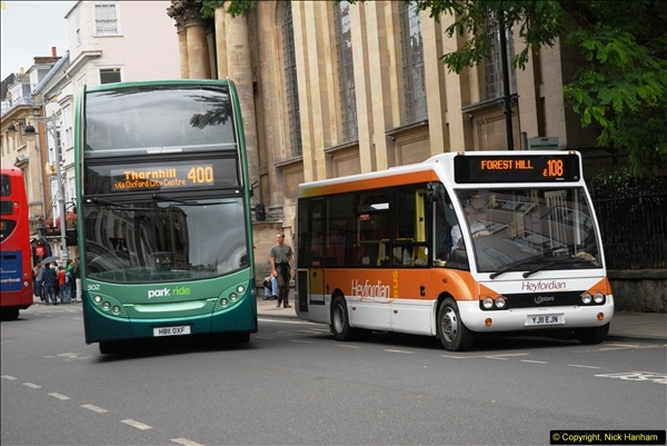 2013-08-15 Buses in Oxford, Oxfordshire. (26)175