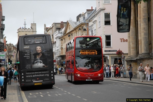 2013-08-15 Buses in Oxford, Oxfordshire. (28)177