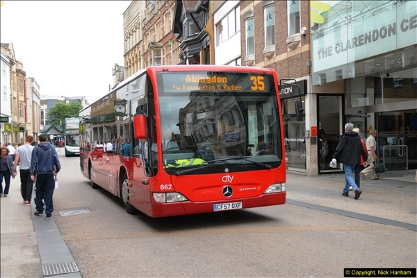 2013-08-15 Buses in Oxford, Oxfordshire. (9)158