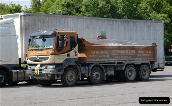 2013-06-06 M27 Motorway, Rownhams Services, Southampton, Hampshire.  (9)070