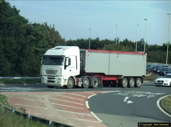 2013-09-28 Trucks in Nottinghamshire.  (7)107