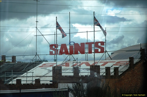 2014-07-13 Saints Transport Depot on the M25.  (1)292