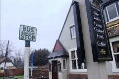 2014-01-31 Rare old style Bus Stop @ Spetisbury, Dorset.  (3)057