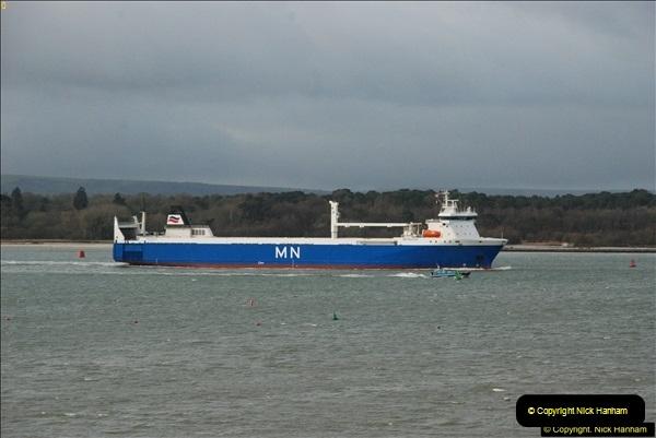 2016-02-20 MV Pelican and Poole Quay.  (1)030