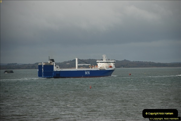2016-02-20 MV Pelican and Poole Quay.  (8)037