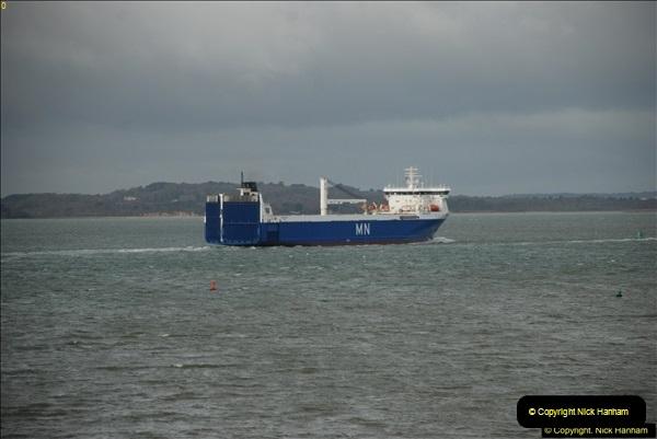2016-02-20 MV Pelican and Poole Quay.  (9)038
