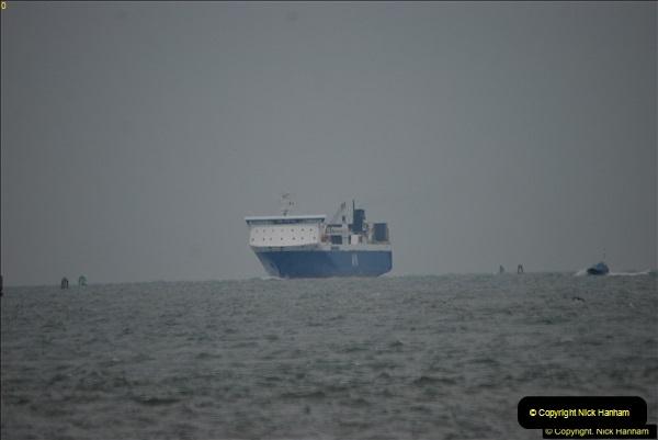 2016-02-27 MV Pelican entering Poole Harbour followed by bunkering vessel.  (1)058