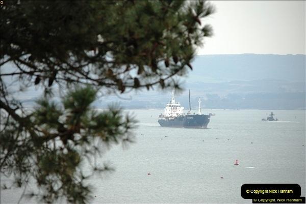 2016-02-27 MV Pelican entering Poole Harbour followed by bunkering vessel.  (24)081