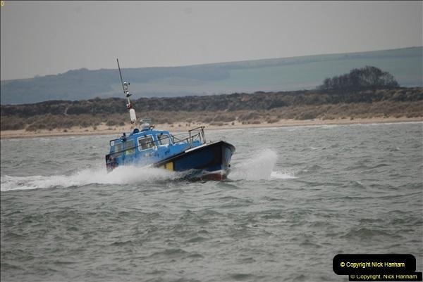 2016-02-27 MV Pelican entering Poole Harbour followed by bunkering vessel.  (4)061
