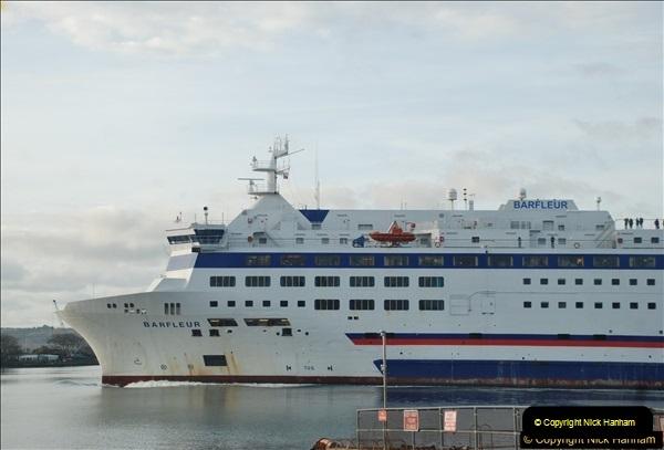 2017-10-31 Barfleur at The Ferry, Sandbanks, Poole, Dorset.  (1)184