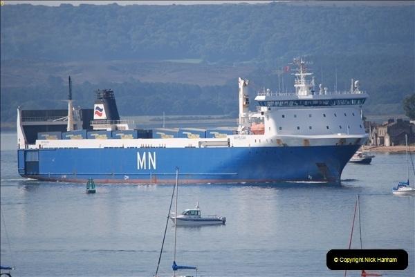 2018-09-03 BIG ships at Poole. (10)313