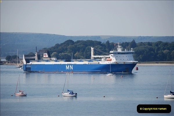 2018-09-03 BIG ships at Poole. (11)314