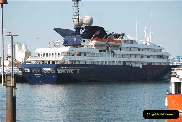 2018-09-03 BIG ships at Poole. (1)304