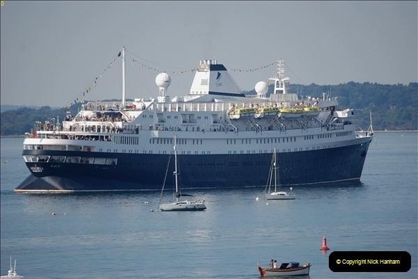 2018-09-03 BIG ships at Poole. (6)309