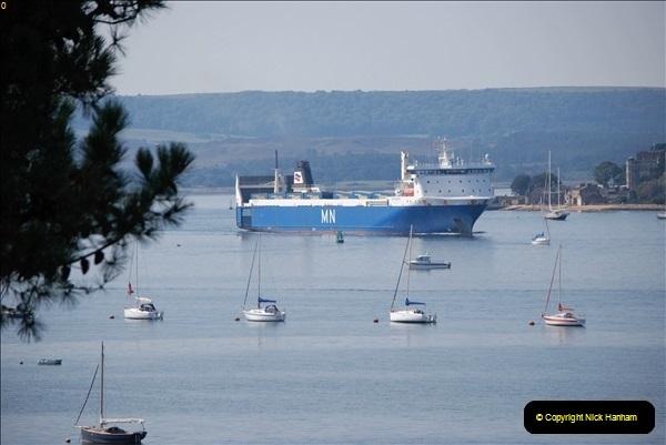 2018-09-03 BIG ships at Poole. (9)312