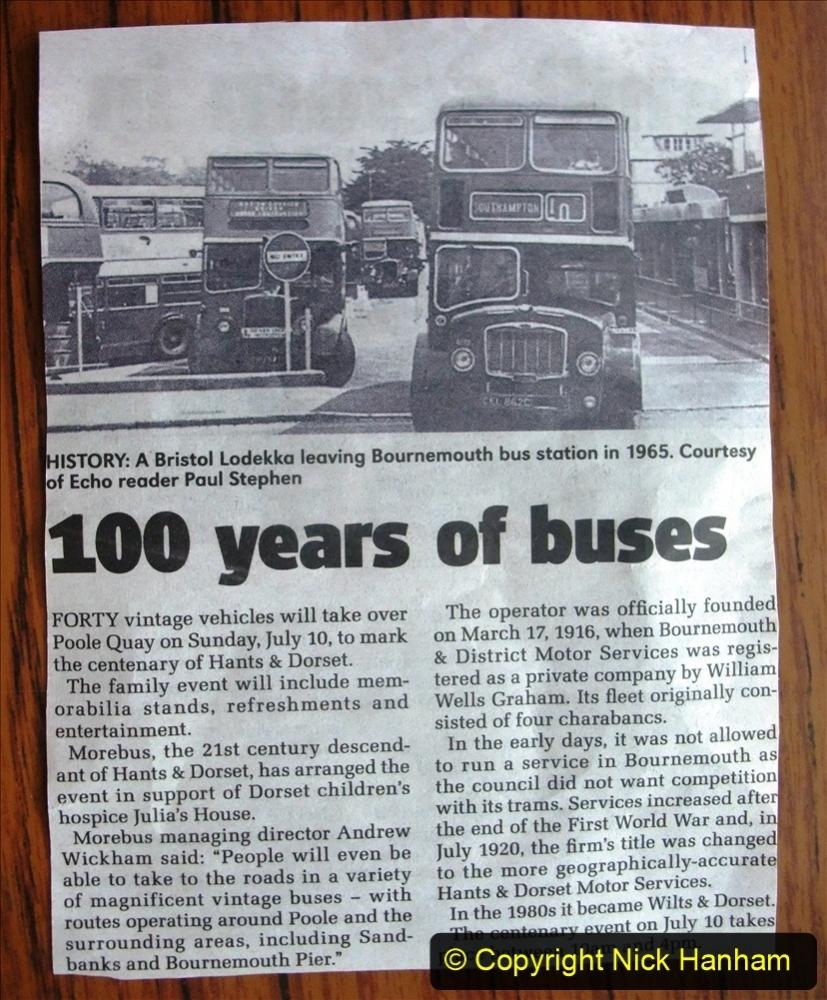 2016 Hants and Dorset 100 Years