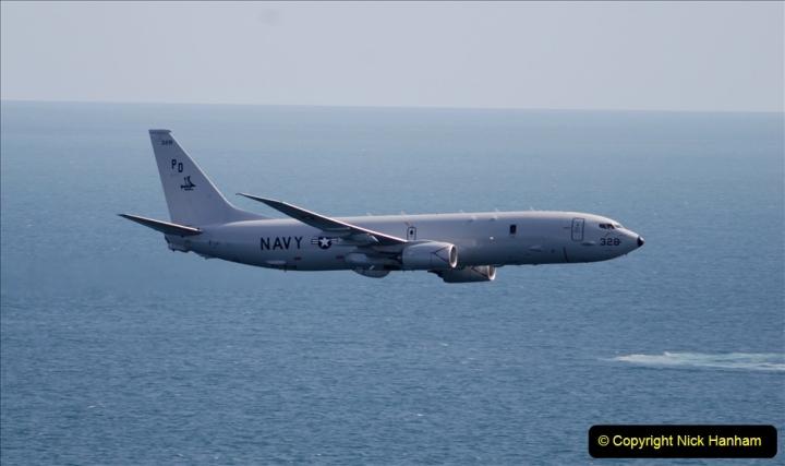 2019-08-30 Bournemouth Air Festival 2019. (153) US Navy P-8A Poseidon Surveillance Aircraft. 153