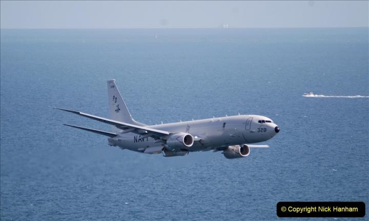 2019-08-30 Bournemouth Air Festival 2019. (155) US Navy P-8A Poseidon Surveillance Aircraft. 155