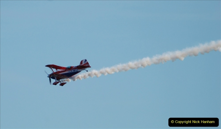 2019-08-30 Bournemouth Air Festival 2019. (236) Super Pitts Muscle Bi-Plane S2S G-EWIZ. 236