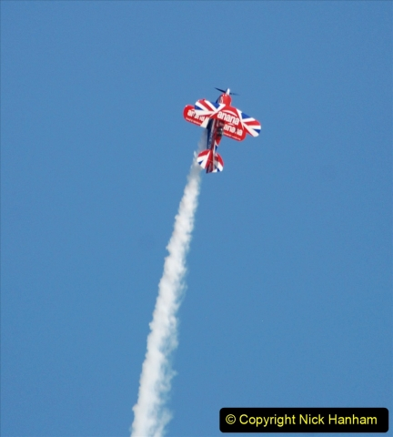 2019-08-30 Bournemouth Air Festival 2019. (239) Super Pitts Muscle Bi-Plane S2S G-EWIZ. 239